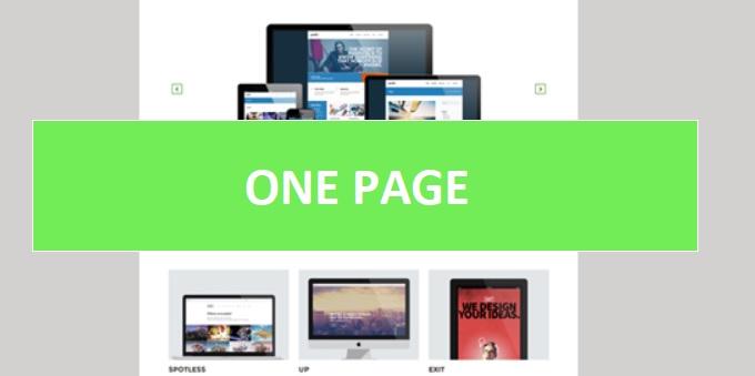 Pozycjonowanie stron one page